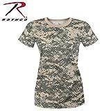 digital acu - Rothco Women's Longer T-Shirt, ACU Digital Camo, Large