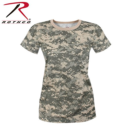 Rothco Women's Longer T-Shirt, ACU Digital Camo, Medium Acu Digital Camouflage T-shirt
