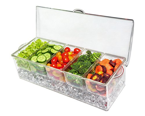 5 compartment tray - 4