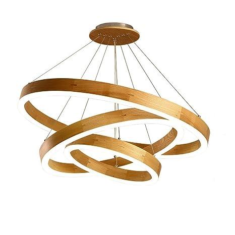 Lámpara de madera del restaurante minimalista moderno del ...