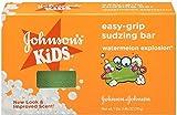 JOHNSON'S Kids Easy-grip Sudzing Bar Watermelon