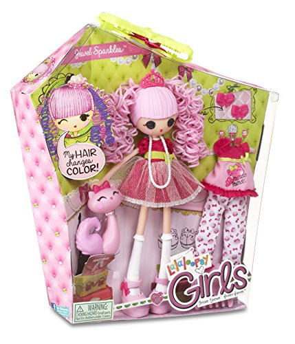 Lalaloopsy girls jewel sparkles doll buy online in uae for Lalaloopsy jewel sparkle coloring pages