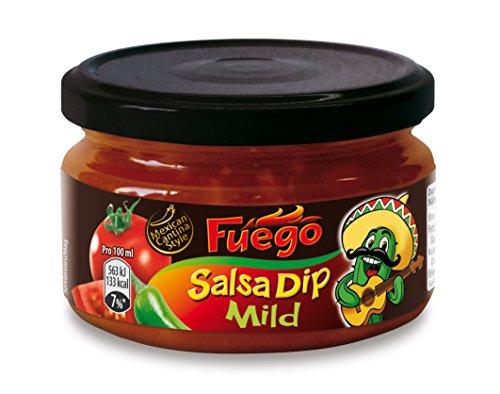Fuego Salsa Dip Mild, 4er Pack (4 x 200 ml)