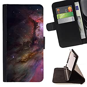 Super Marley Shop - Leather Foilo Wallet Cover Case with Magnetic Closure FOR LG G3 LG-F400 D802 D855 D857 D858 - Space Stars