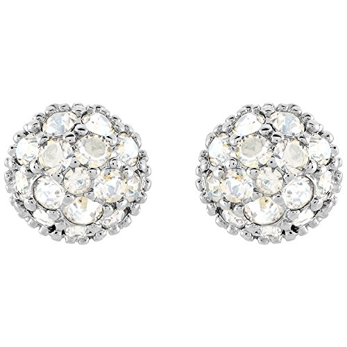 Swarovski Moonlight Crystal EUPHORIA Studs Pierced Earrings Rhodium #5073039