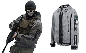 Call of Duty 6 Modern Warfare 2 Task Force 141 Ghost Jacket Cosplay Costume with XL  sc 1 st  Amazon UK & Call of Duty 6 Modern Warfare 2 Task Force 141 Ghost Jacket Cosplay ...