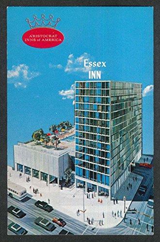 Essex Inn Michigan Ave at 8th St Chicago IL postcard - Chicago St Michigan