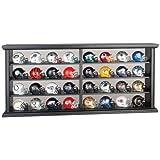 Riddell NFL Revolution Pocket Pro League Helmet Set in Wood Display
