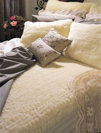 Snugfleece Original Wool Mattress Pad - X-long Twin by Sn...