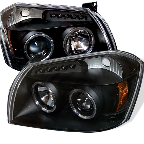 Spyder Auto Dodge Magnum Black Halogen LED Projector Headlight For 2005-2007 Dodge Magnum Only
