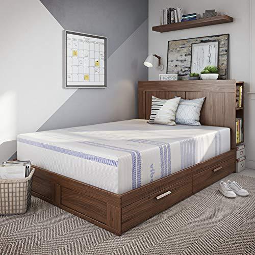Vibe 12-Inch Gel Memory Foam Mattress Bed in a Box, Mattress Only , Queen