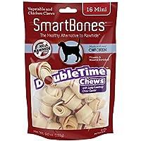 SMART BONE SmartBones DoubleTime Bones Chicken Dog Chew, Mini, 16 pieces/pack