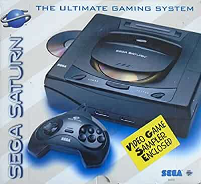 Sega saturn system video game console unknown video games - Sega saturn virtual console ...
