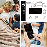 Caavo Universal Remote with Voice Control [Control Connected Devices with Voice] works with Roku, Apple TV, Fire Stick TV, nVidia Shield, Alexa, Sonos, Xbox One, PS4 and most streaming and A/V Devices