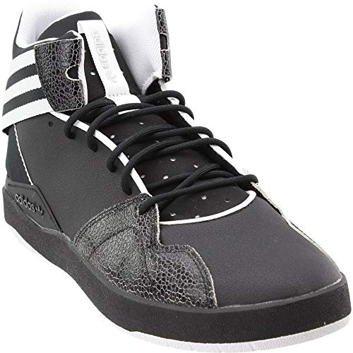 's Crestwood mid Fashion Sneaker Black/White, 11.5 M US ()