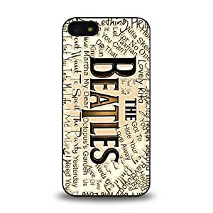 iPhone 5 5S case protective skin cover with forever rock band The Beatles cool poster design #4 hjbrhga1544