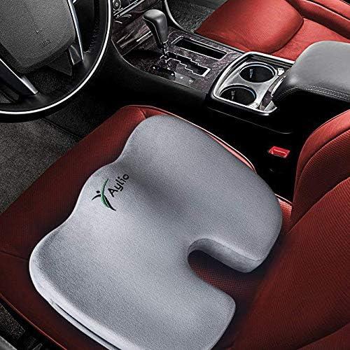 Aylio Coccyx Orthopedic Comfort Foam Seat Cushion for Lower Back