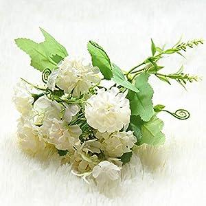 AYHS 9 Hydrangea Artificial Flower Ball Forest Fake Flower Silk DIY Home Decoration Artificial Flower Wedding Decoration Table Bouquet 82