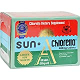 Sun Chlorella A Tablets - 500 mg - 600 Tablets
