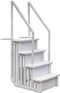 Gre EPE30 - Escalera Sintética para Piscina Enterrada, 206 cm ...