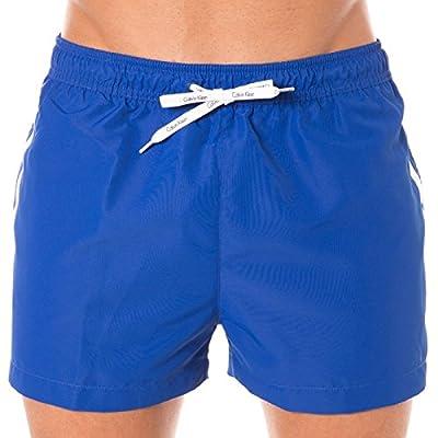 Calvin Klein Logo Tape Men's Swim Shorts, Black