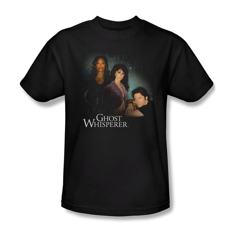 Ghost Whisperer - Mens Diagonal Cast T-Shirt In Black