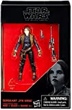Star Wars, 2016 The Black Series, Sergeant Jyn Erso (Rogue One) Exclusive Action Figure, 3.75 Inches