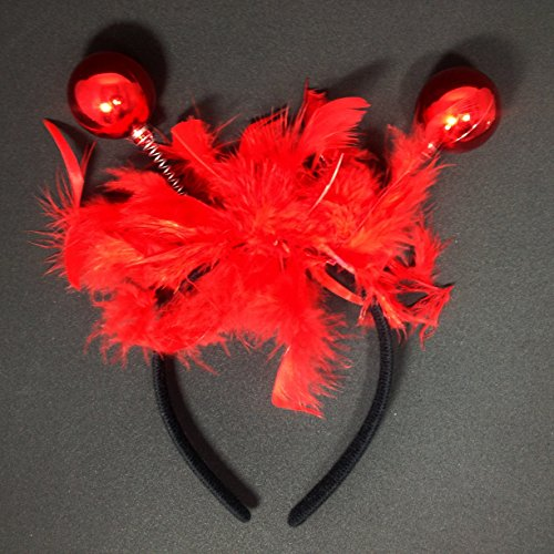 Funny Party Carnival Horn Headband :H11 (Disco Red)