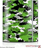 Sony PS3 Skin WraptorCamo Digital Green