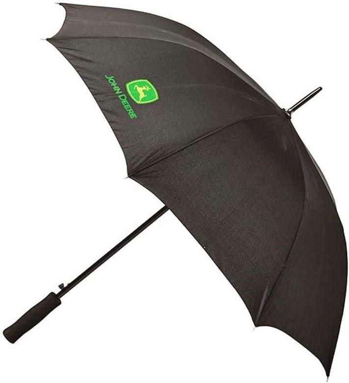 schwarzer Regenschirm John Deere Klassischer