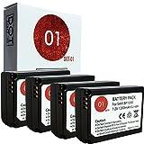 samsung nx1000 accessories - DOT-01 4X Brand 1200 mAh Replacement Samsung BP-1130 Batteries for Samsung NX2000 Digital Camera and Samsung BP1130