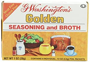 George Washington  Golden Seasoning and Broth, 1-Ounce Boxes (Pack of 24)