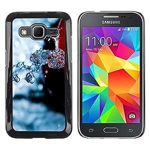 Smartphone Rígido Protección única Imagen Carcasa Funda Tapa Skin Case Para Samsung Galaxy Core Prime SM-G360 Nature Beautiful Forrest Green 108 / STRONG