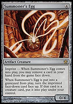MTG 4X Summoner/'s Egg Playset MP-LP Fifth Dawn Magic