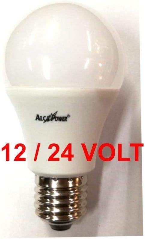 Lampada Goccia Led 12v - 24v E27 10w Luce Calda 3000k 890 Lumen 270°