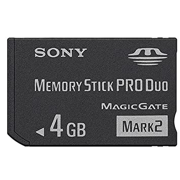 Sony MS Pro Duo 4GB Mark2 + Adapter 4GB MS memoria flash: Amazon ...