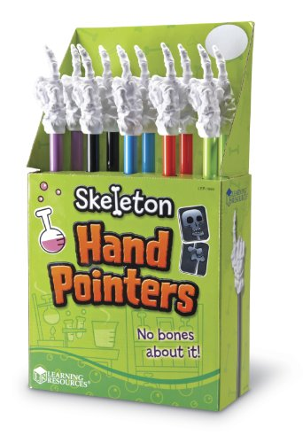 Learning Resources Skeleton Hand Pointer Classpack
