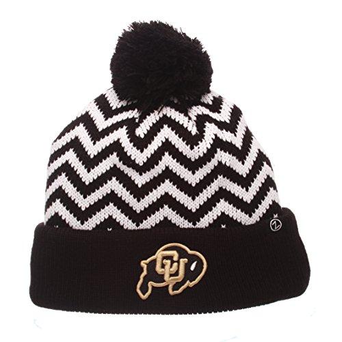 Zephyr NCAA Colorado Buffaloes Adult Women Altitude Women's Knit Hat, Adjustable, Team Color