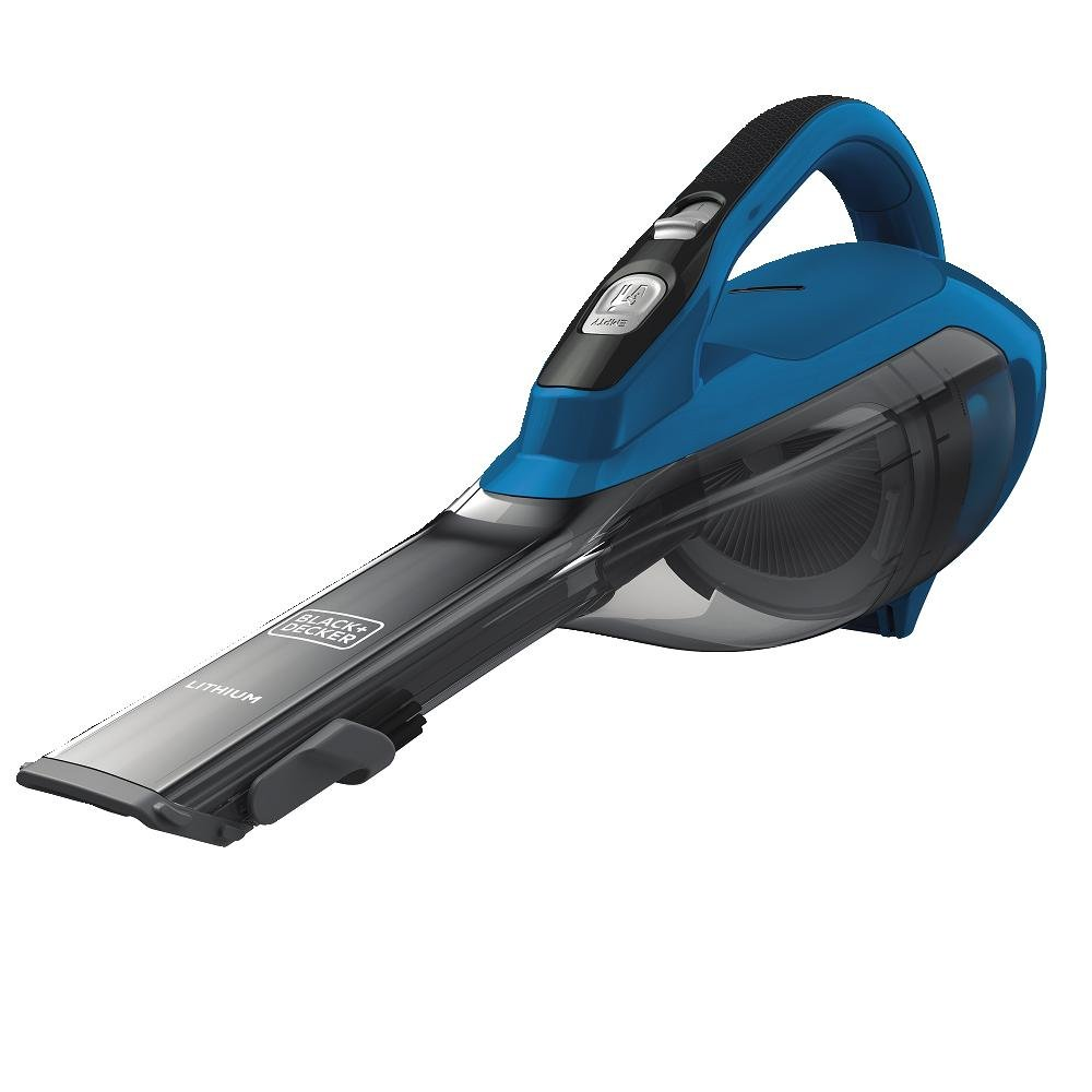 BLACK+DECKER HLVA315J22 Lithium Hand Vacuum 1.5Ah, Ocean Blue