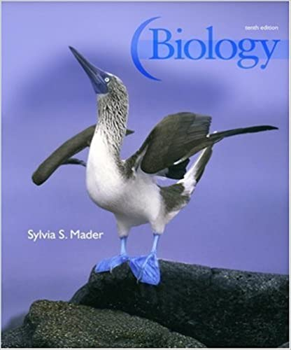 Biology 9780077274337 Sylvia Mader Books