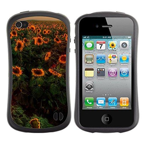 Apple Iphone 4 / 4S [Sunflowers Sunset]