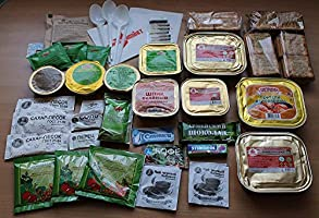 Ración de alimentos del ejército ruso militar, paquete diario Mre Raciones de emergencia Exp. Date 2018-2019 Voentorg 4,6 lb (2,1 kg): Amazon.es: Bricolaje y herramientas