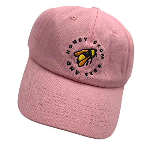 Chen Golf Wang Baseball Cap Bee Embroidered Dad Hats Adjustable Snapback Cotton Hat Unisex Pink