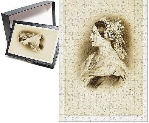 Photo Jigsaw Puzzle of Princesse Mathilde Bonaparte - daughter of Prince Jerome (Ermine Robe)