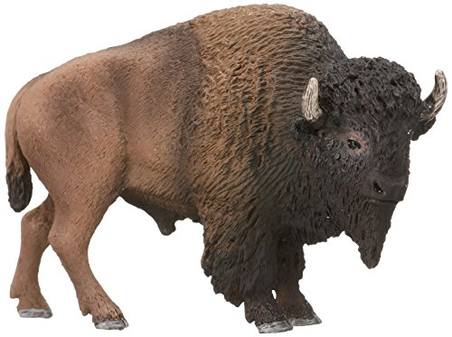 Prairie Animals - Schleich American Bison Action Figures