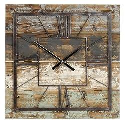 Aspire Home Accents Weston Square Wall Clock