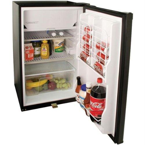 Haier 4.1 Cu. Ft. Refrigerator/Freezer - Nevera combi ...