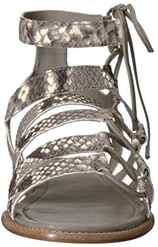 Frye Blair Mujer Ghillie Gladiador Sandalia Lado Gris