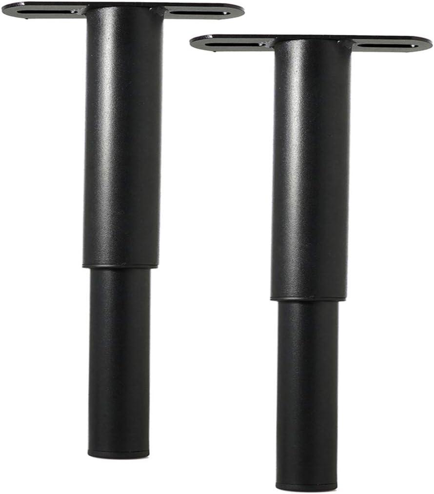 Metal Adjustable Round Sofa Bed Furniture Cabinet Foot Legs Heavy Duty Bed Center Frame Slat Support Leg for Bed Frame (2, 7