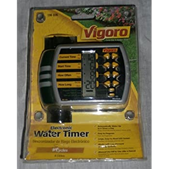 Vigoro Electronic Water Timer (Wireless)
